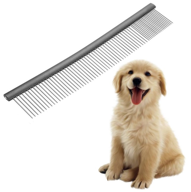 Chrome Plate Pet Grooming Comb
